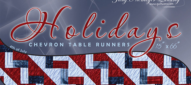 Holiday-Chevron-Tablerunners Marquee