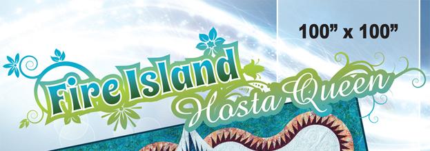 Fire Island Hosta Banner